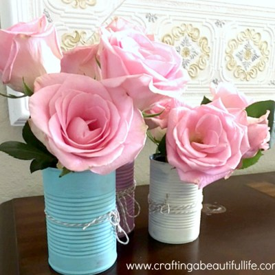Mother's Day Quick Gift & Centerpiece