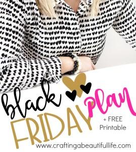 black Friday planner