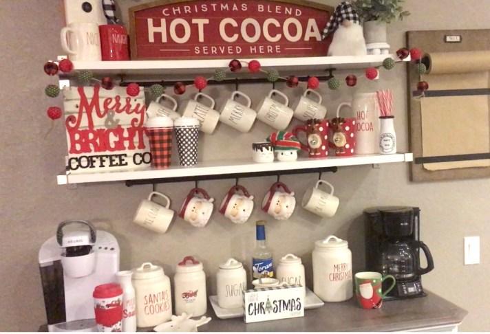 Christmas Coffee Bar Decor And Diys And Ideas For Your Home