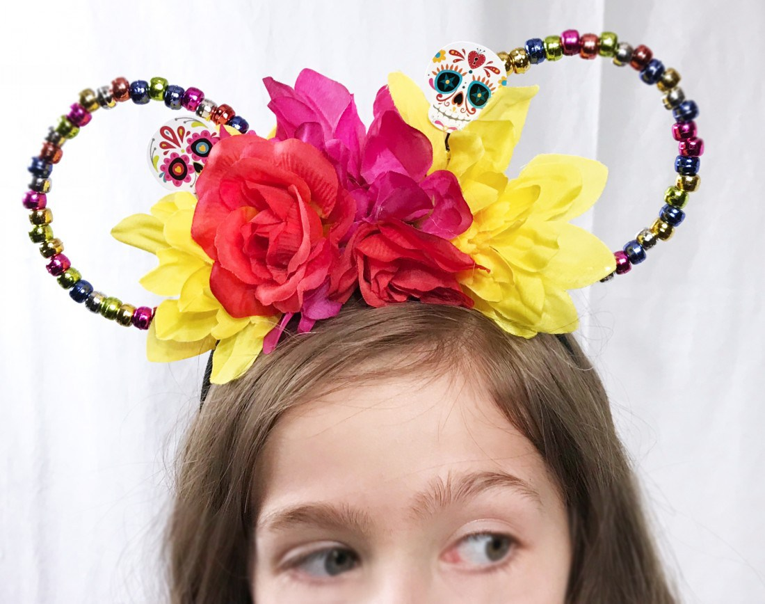 Dollar Tree Crafts: Disney Ears inspired by Coco movie. Follow the link for the tutorial on this cute DIY.