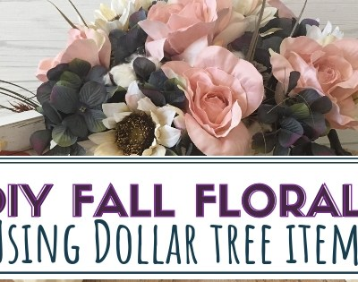 DIY Fall Florals