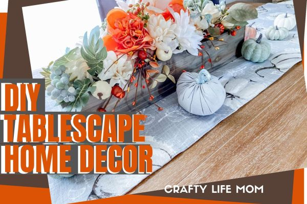 Fall Table Home decor for your dining room