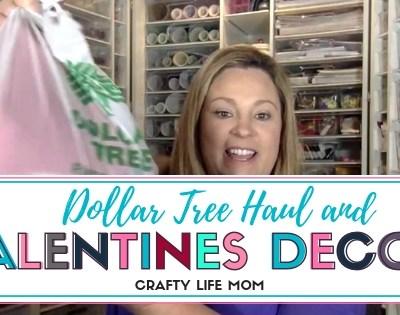 Dollar Tree Haul & Valentines Decor