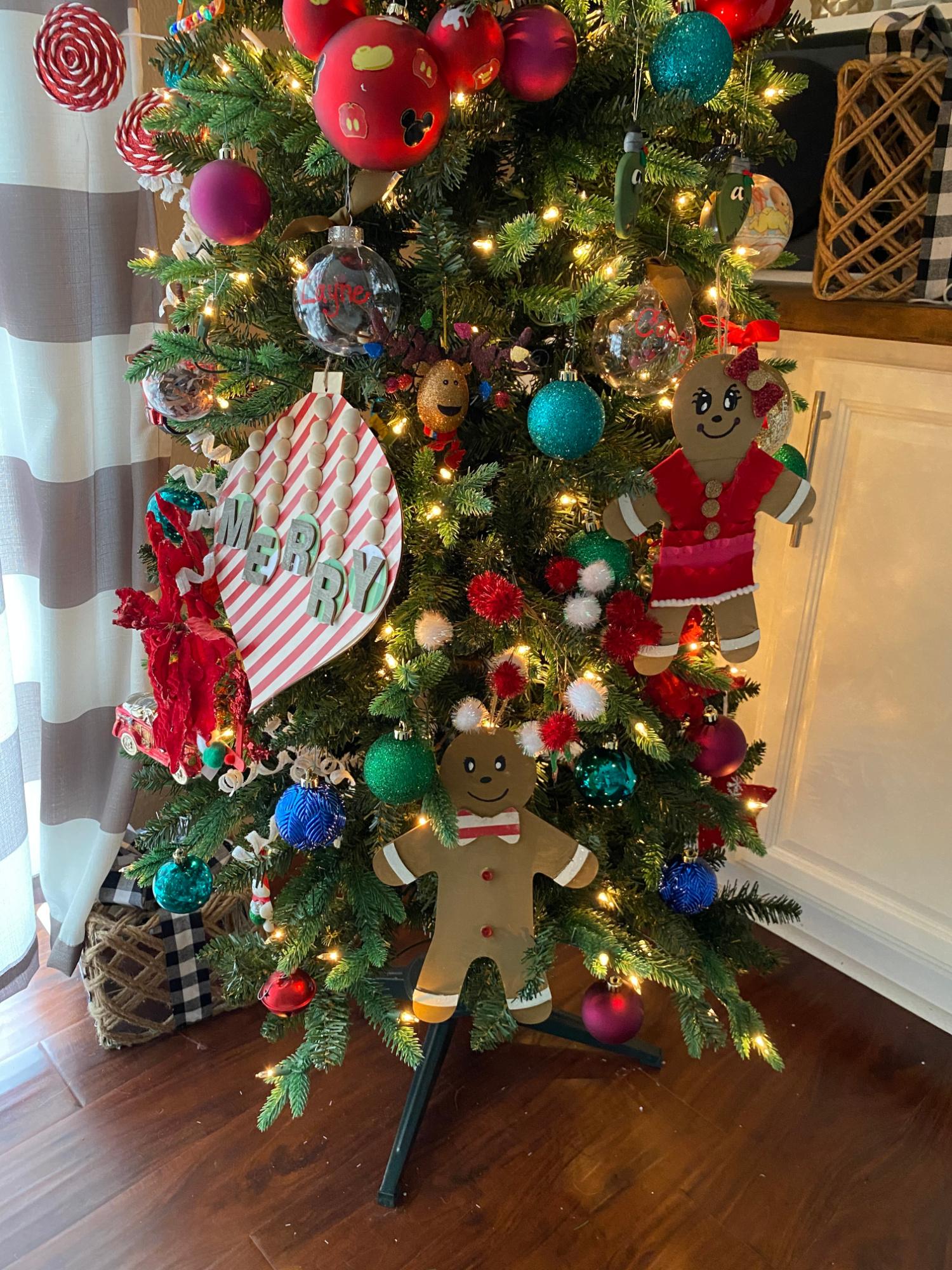 Large Wooden Ornament DIY