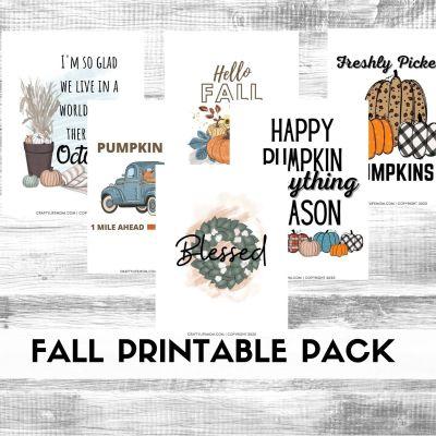 Fall Printable Decor