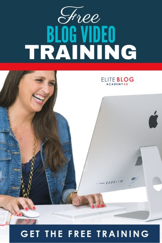 Blogging Made Simple Free Training series provided by Ruth the creator of Elite Blog Academy. Grab this free training and see why I started blogging and why you should too!