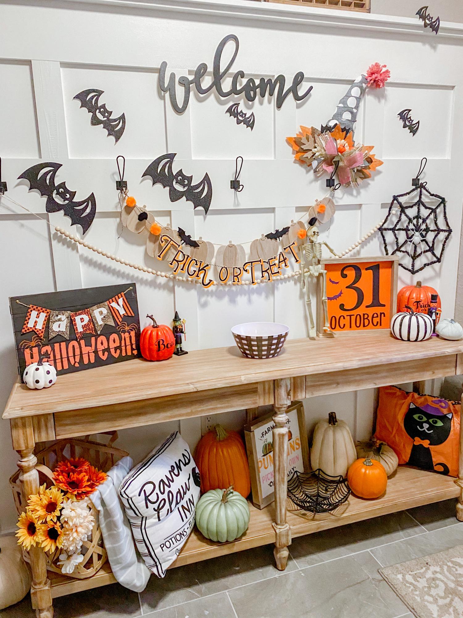 DIY Halloween Wood Sign making kit