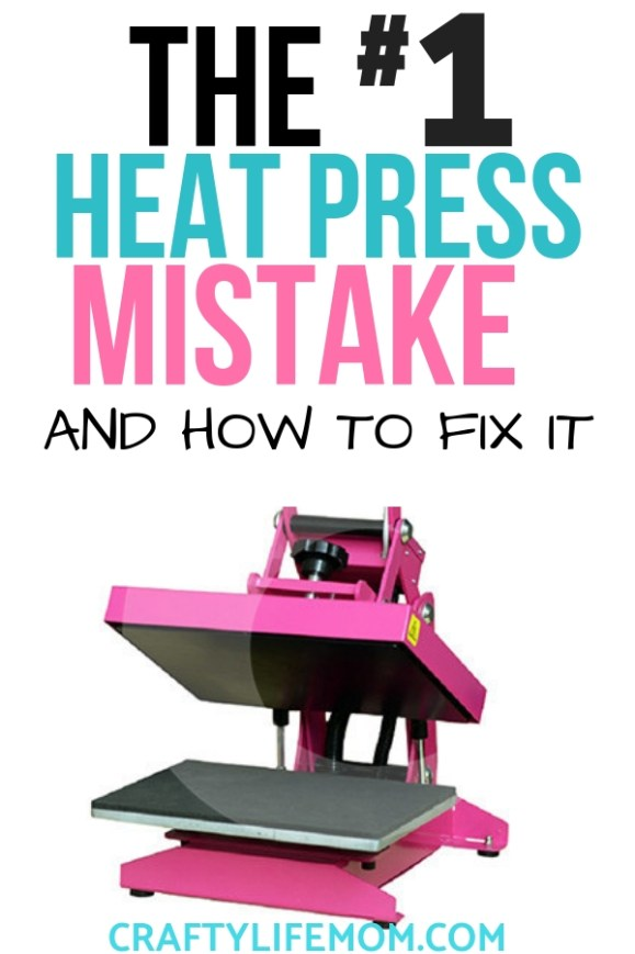How to Fix the #1 Heat Press Mistake Crafters Make
