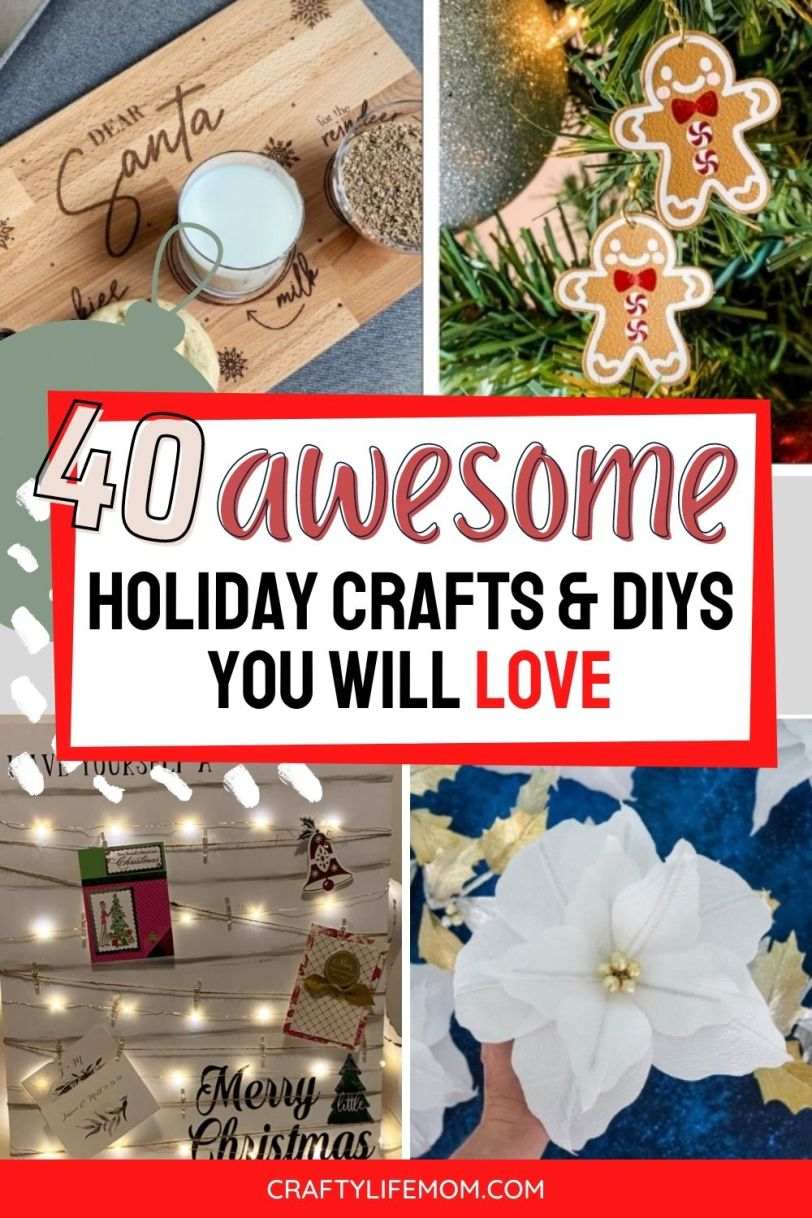 Discover new Holiday Craft Projects to make your holidays extra special and creative this holiday season. I share my favorite projects from the Holiday Maker Fest to help you decorate and cherish the holidays.