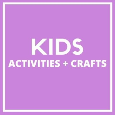 Kids Crafts and activities. Printables and things to make with kids.