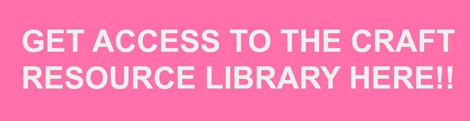 Crafty Life Mom entire craft resource library! Join over 1,000 subscribers and get access to the entire library for free.