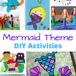 Mermaids are both mysterious and beautiful! Whether your child is a mermaid lover, or you can't help but daydream of having your own set of fins, these 20+ mermaid craft ideas are the perfect DIY to do with the mermaid enthusiast in your life.