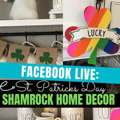 DIY Shamrock Home Decor
