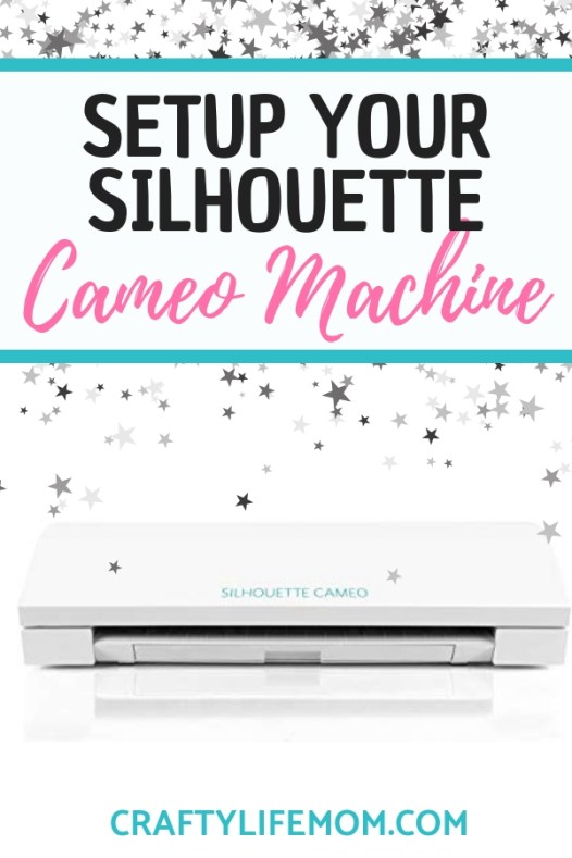 Set Up your Silhouette Cameo machine and get started making projects for family and friends with this quick set up tutorial. Making crafts with your Silhouette is both easy and fun.