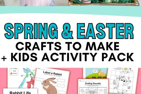 Check out these Spring & Easter DIYs and Crafts using mostly items from the Dollar Tree. Re-create these fun DIYs following this tutorial.