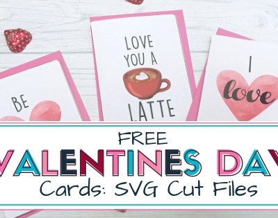 Free Valentines Day Cards SVG