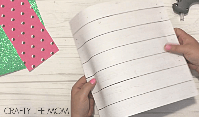 """Create this DIY Farmhouse """"One in a Melon"""" watermelon Summer decor sign to display in your home for the Summer Season this year."""