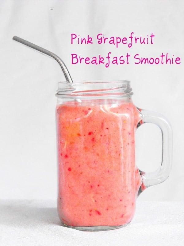 Smoothie of the Week: Pink Grapefruit Smoothie