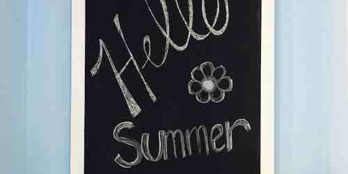 Summer Dahlia Garland