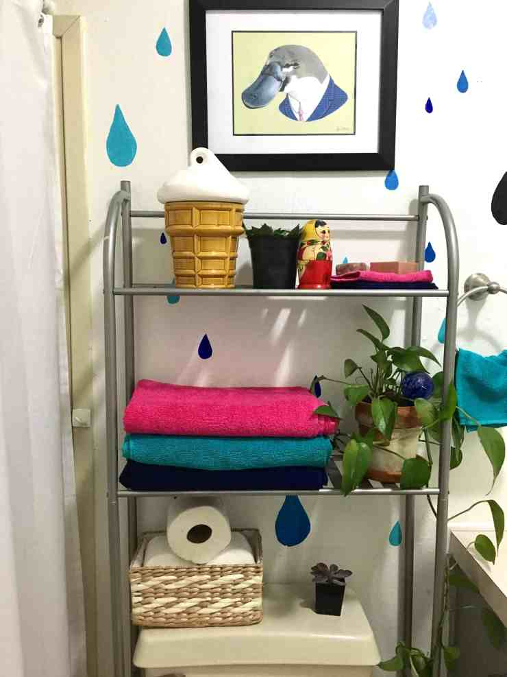 mini guest bathroom remodel