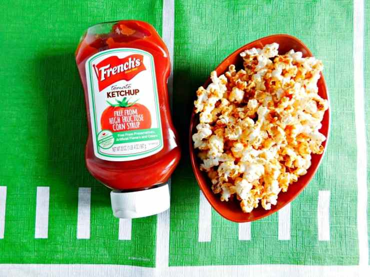 ketchup popcorn