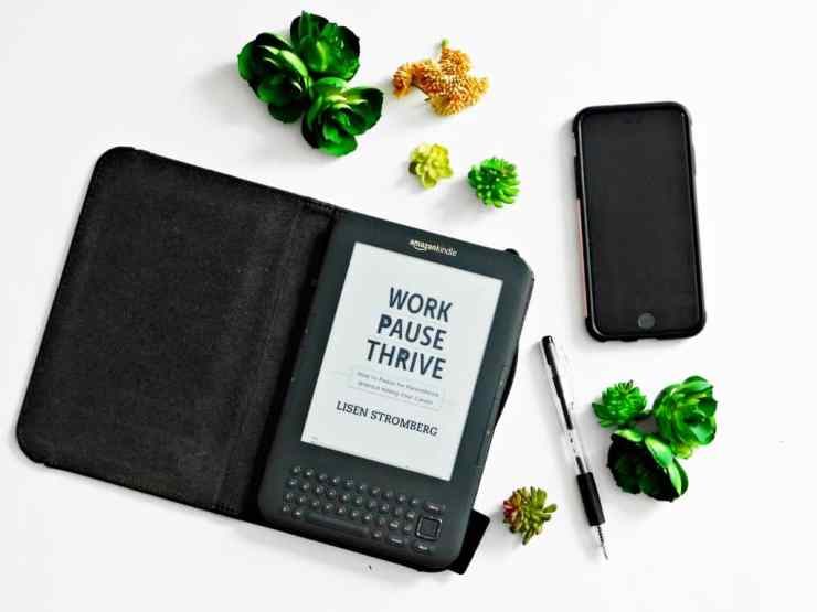 Spring Reading: Work Pause Thrive