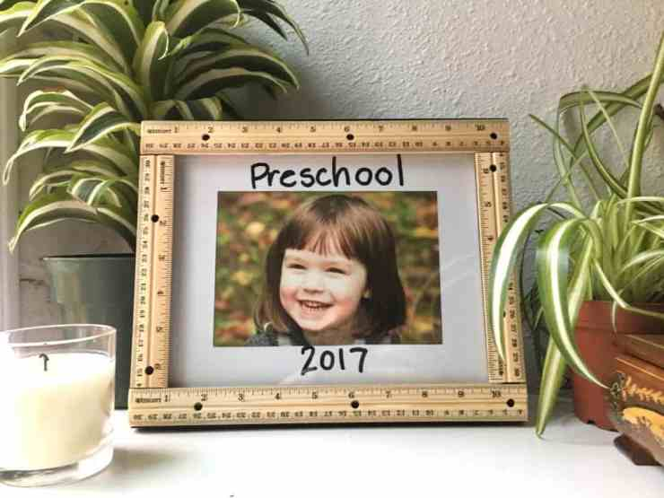 Back to School Picture Frame