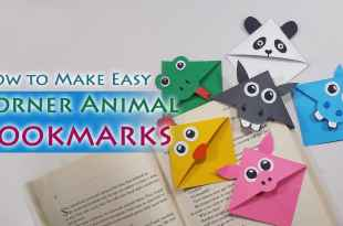 Cute Animal Corner Bookmarks