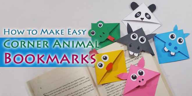 Cute Animal Corner Bookmarks