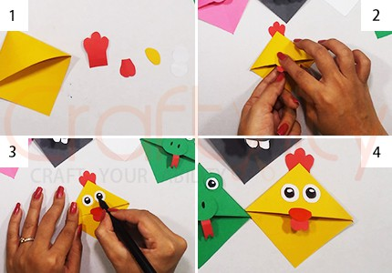 Corner Chicken Bookmarks