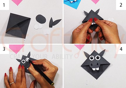 Corner Animal Donkey Bookmarks