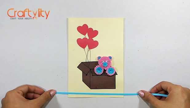 Teddy bear card