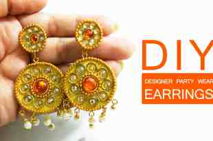 DIY Designer Earrings