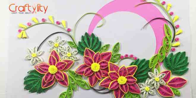 Paper Quilling card - Craftylity