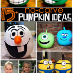 The Kids Are Going To Love Making These Melted Crayon Pumpkins So Fun