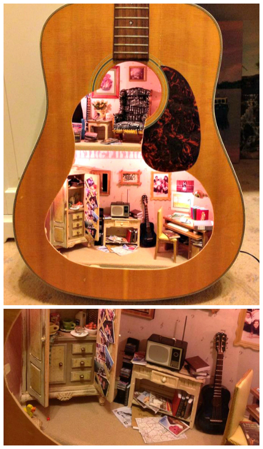 Amazing Ways To Upcycle A Guitar Crafty Morning