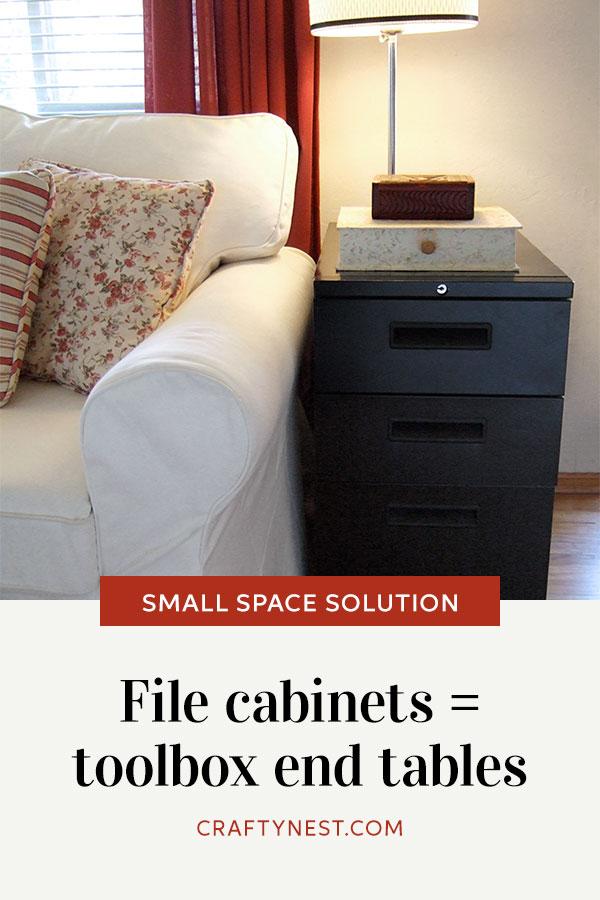 Crafty Nest toolbox end tables Pinterest photo