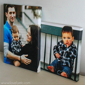 Canvas portraits by Lovely Etc., photo