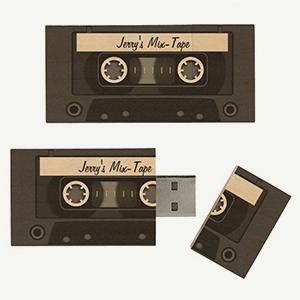 Mix-tape USB flash drive, photo