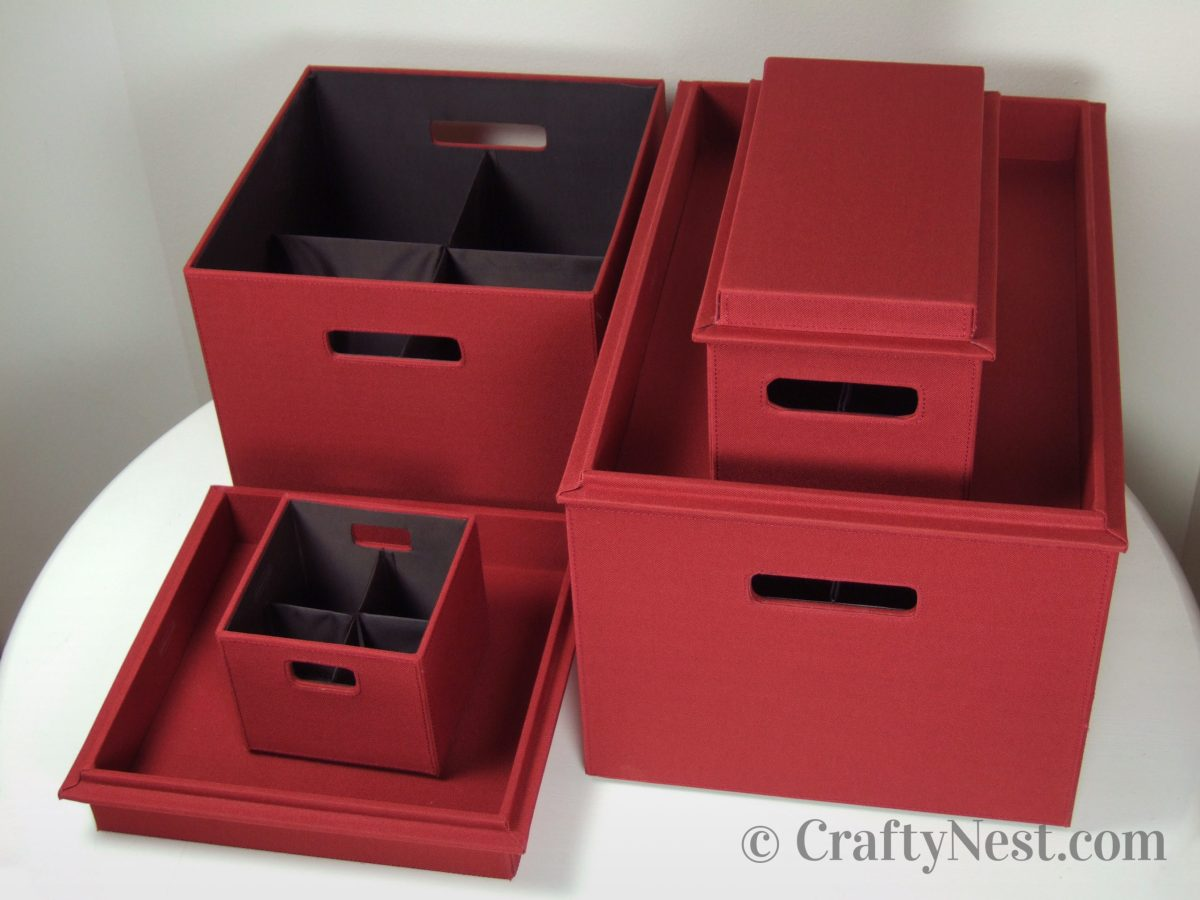 Bento Boxes and Toppers in paprika, photo