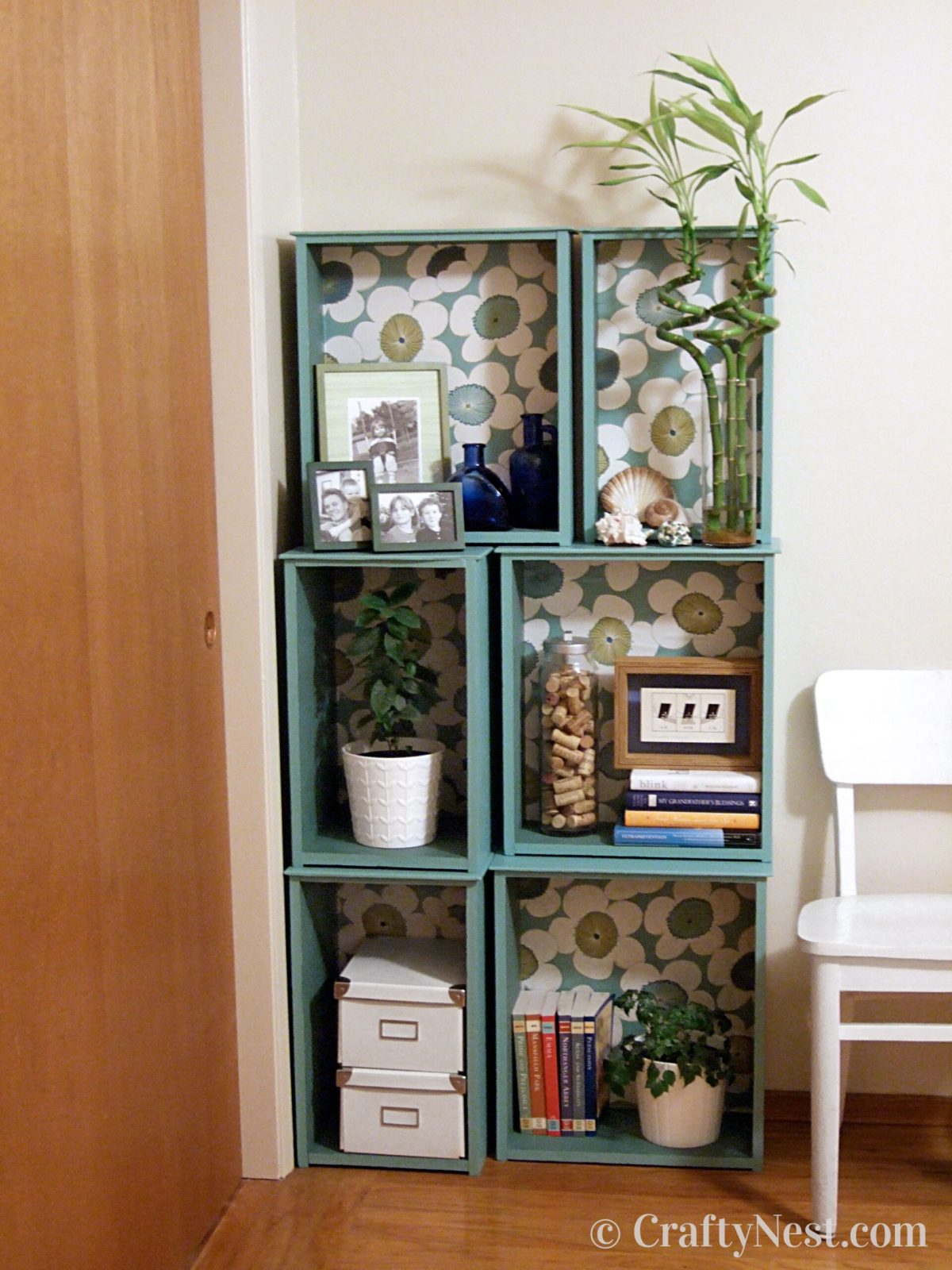 Drawers made into a bookcase, photo