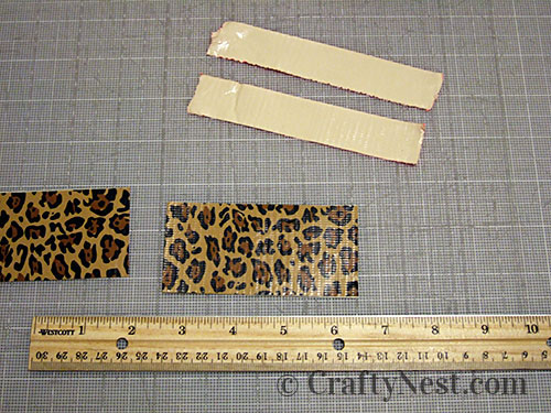 Duct tape wallets, step #13, photo