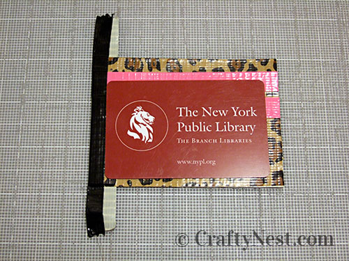 Duct tape wallets, step #17, photo