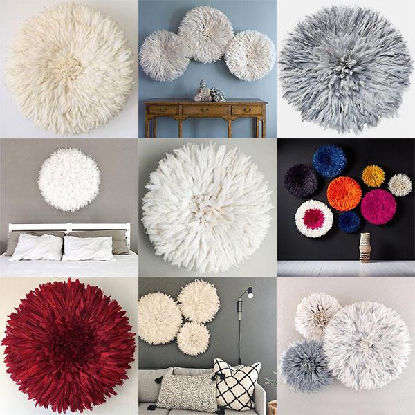 Collage of Juju hats, photo