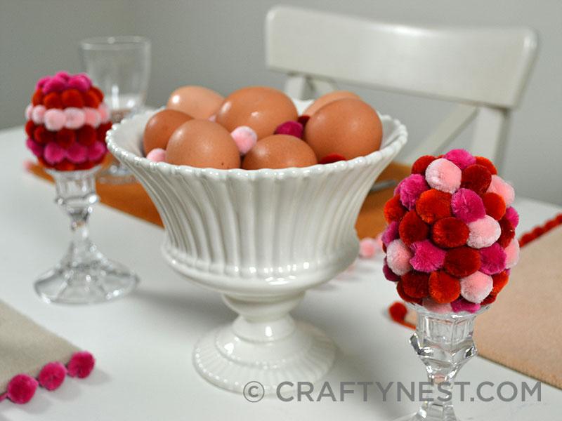 Easter centerpiece, photo