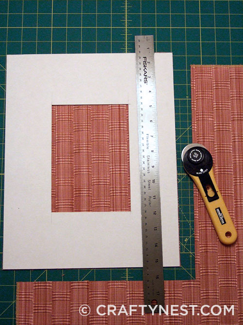 Cut the fabric, photo