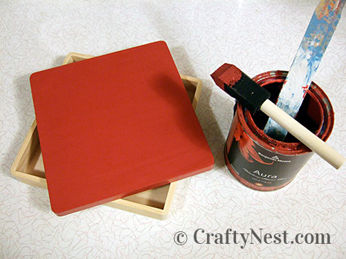 Paint the box, photo