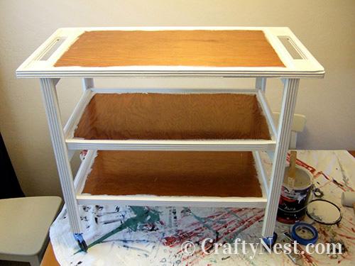 Step 2, paint the frame, photo