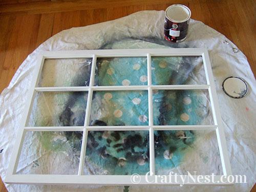Paint the window, photo