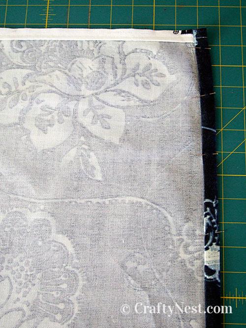 Fold the seam, photo